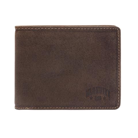 Бумажник Klondike John, коричневый