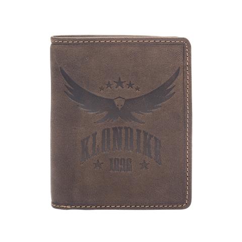 Бумажник Klondike Don, коричневый