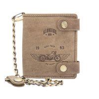 Бумажник Klondike Tim Bike, коричневый