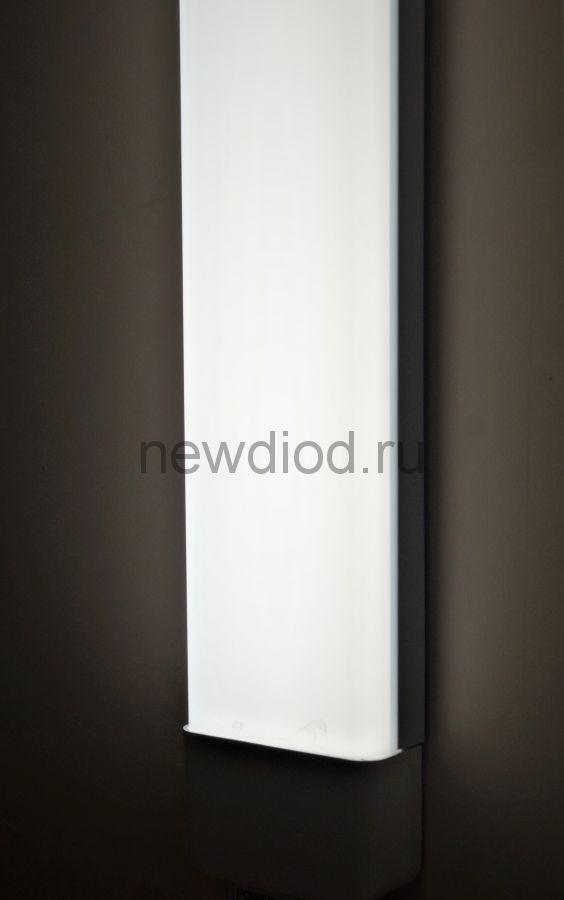 Светильник светодиодный POWER 1200мм 54W-5000lm 5000K Алюминий IP40 Oreol