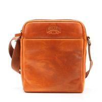 Кожаная сумка через плечо Klondike Digger Jake, цвета коньяк
