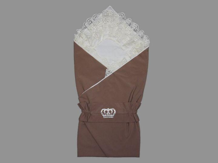 Комплект на выписку 5-KM004-BB корона цвет кофе, барби