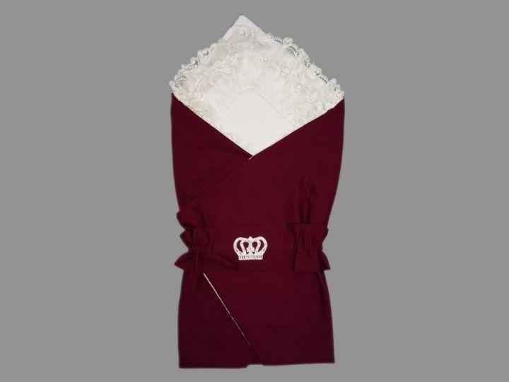 Комплект на выписку 5-KM004-BB корона цвет бордовый, барби