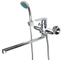 Смеситель для ванны с душевым набором Fmark FM2239 хром