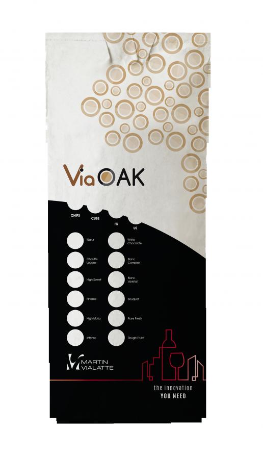 Дубовая щепа VIAOAK, Martine Vialatte, 10 кг, Франция