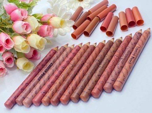Набор карандашей для губ FLORMAR, 12шт (12501)