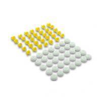 RK14014 * 7701050734 * Пистон крепления молдинга двери для а/м LAR, Renault Logan «Евро» (компл. 35 пар)