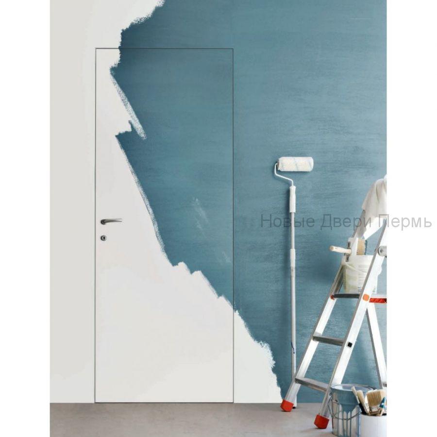 Скрытая дверь Карда алюминиевая кромка