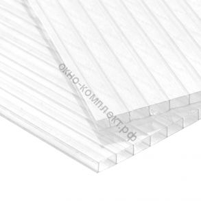 """Поликарбонат""""Карбогласс"""" 3,2мм специальный для теплиц.Плотность:0,47м2. Прозрачный.Размер: 2,1*6м"""