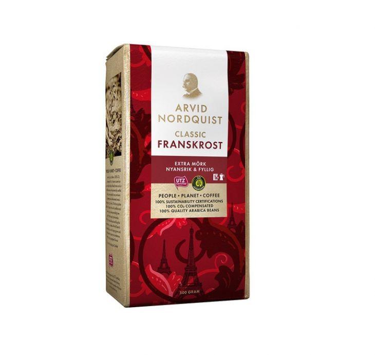 Arvid Nordquist Classic FRANSKROST кофе молотый 500 гр