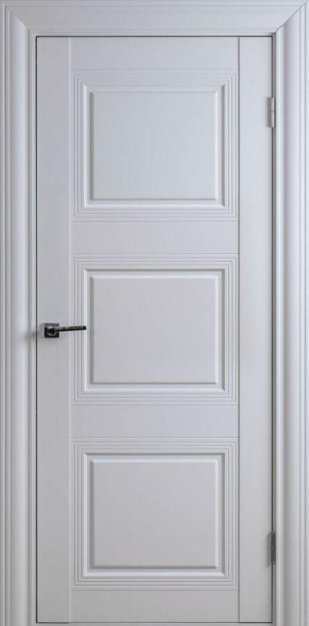 Дверной блок Арт Классик-2F Белый Шёлк