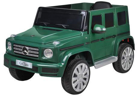 Джип Mercedes-Benz BBH-003 детский электромобиль (колесо EVA, Экокожа) тёмно-зеленый