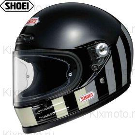 Шлем Shoei Glamster Resurrection, Черно-серо-белый