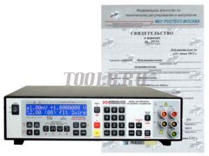 Поверка калибратора - измерителя сигналов силы и напряжения постоянного/переменного тока