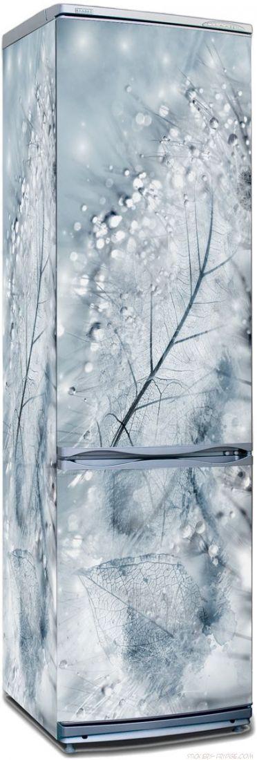 Наклейка на холодильник - Хрусталь