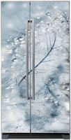 Наклейка на холодильник - Хрусталь купить в магазине Интерьерные наклейки