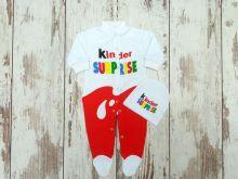 Костюм: шапка, комбинезон Kinder Surprise, размер 56, dA2-KS205-ITpk