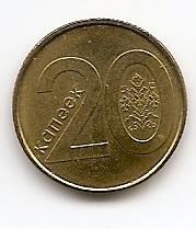 20 копеек  Беларусь 2009 регулярная