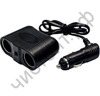 Разветвитель прикуривателя OLESSON 1645 (2 гнезда+USB)