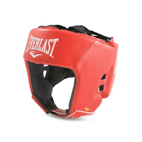 Шлем для любительского бокса Everlast Amateur Competition PU M красн. артикул 610200-10 PU