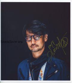 Автограф: Хидэо Кодзима