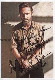 Автограф: Эндрю Линкольн. Ходячие мертвецы / The Walking Dead