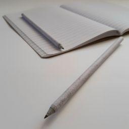 карандаши из переработанного картона