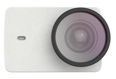 Оригинальный Кожаный чехол + защитная линза для экшн-камеры Xiaomi Yi 4K