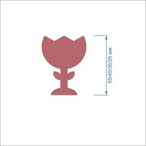 `Заготовка ''Тюльпан-1'' , фетр 1 мм