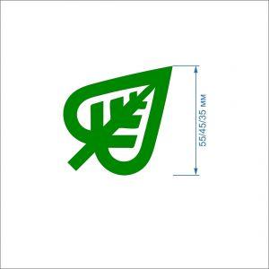 `Заготовка ''Лист с вырезом-2'' , фетр 1 мм