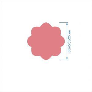 `Заготовка ''Цветок-7'' , фетр 1 мм