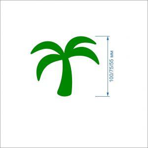 Заготовка ''Пальма'' , фетр 1 мм (1уп = 5наборов)
