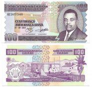 Бурунди 100 Франков 2011 UNC