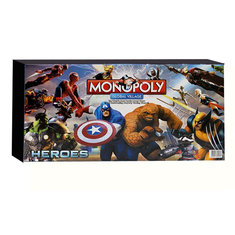 Настольная игра Монополия Heroes