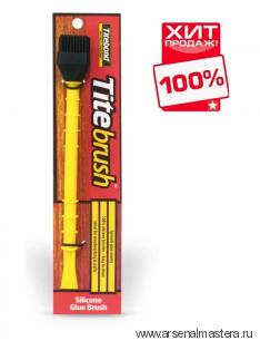 Кисть для клея щетина силикон, ручка пластик Titebrush Titebond ХИТ!