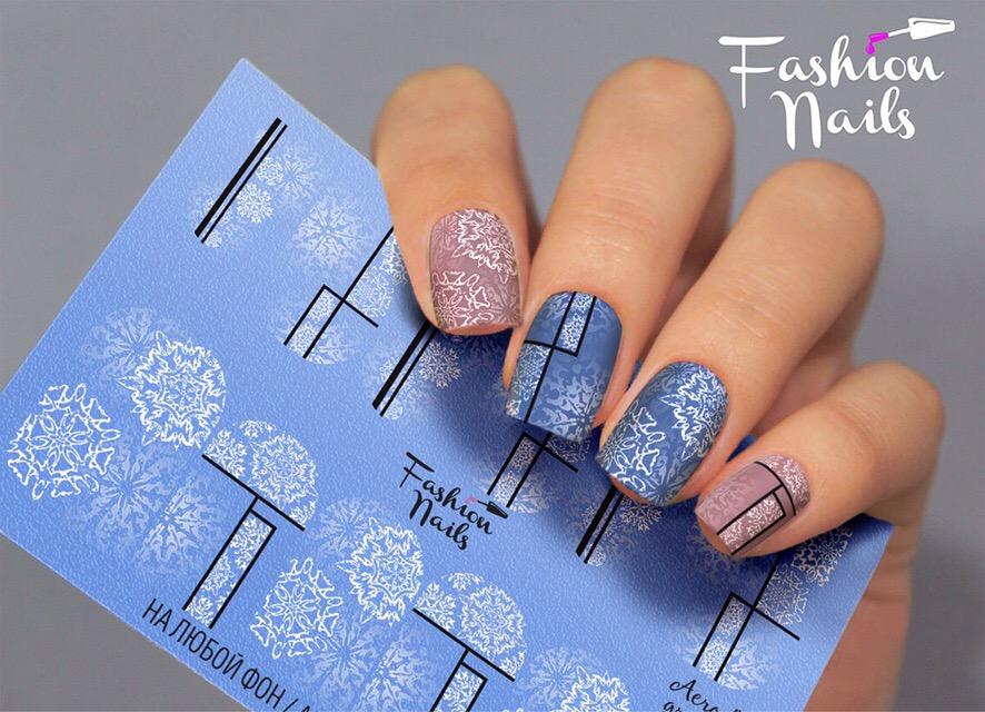 Слайдер дизайн Fashion Nails Aerography #45