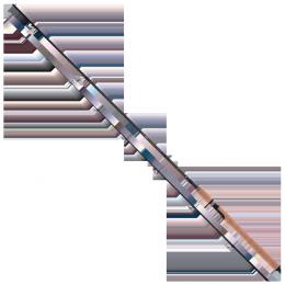 Спиннинг штекерный Mikado Sensei Ultrafast Spin 240 (тест до 10 г)