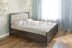 Кровать КР-1033 с мягким изголовьем и подъёмным механизмом