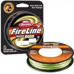 Плетёная леска Berkley FireLine Tracer Braid 110m 0,16