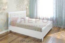 Кровать КР-1034 с мягким изголовьем и подъёмным механизмом