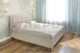 Кровать КР-1032 с мягким изголовьем и подъёмным механизмом
