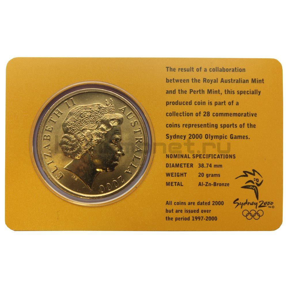 5 долларов 2000 Австралия Фехтование (Олимпийские игры в Сиднее)
