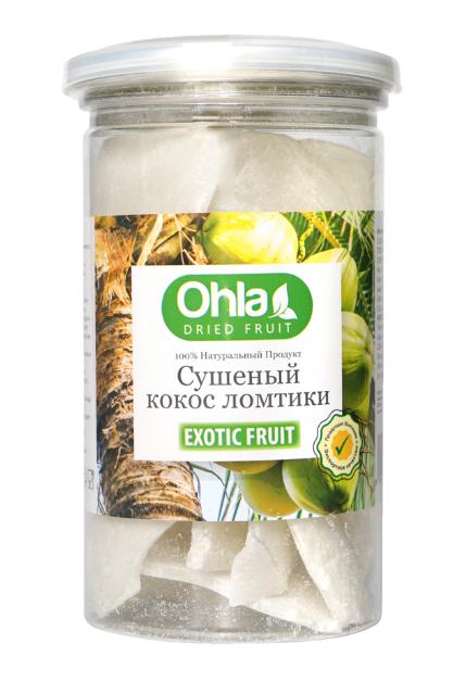 Кокос сушеный натуральный Ohla, 300гр.