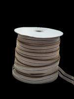 Резинка с просечкой, толщина 0,6 мм, бежевая