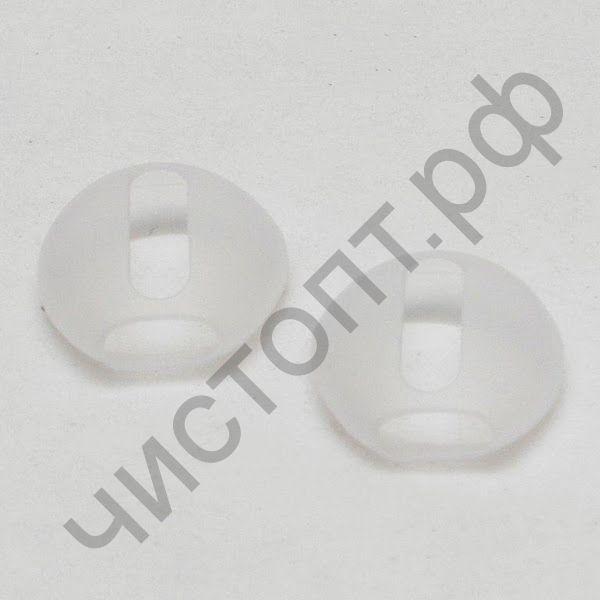 Накладки силиконовые для APods super slim прозрачная цена за пару
