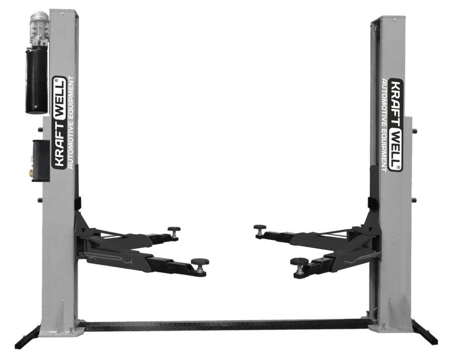 Подъемник двухстоечный г/п 5000 кг. электрогидравлический KraftWell арт. KRW5EA