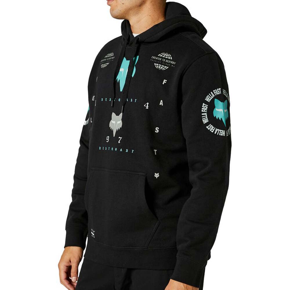 Fox Mawlr Po Fleece Black Limited Edition толстовка