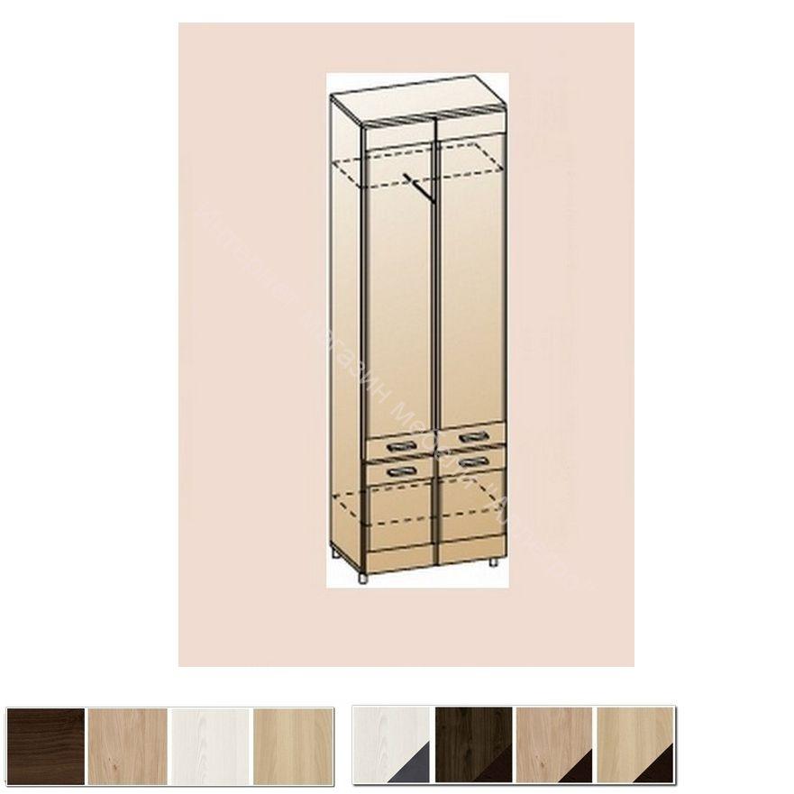 Шкаф для одежды и белья ШК-2634 Камелия