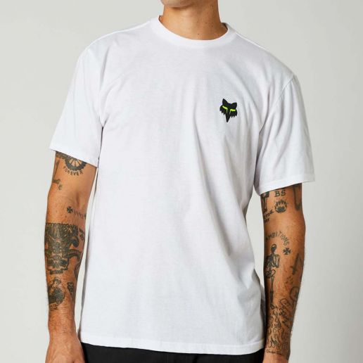 Fox Mawlr SS Tee Optic White Limited Edition футболка