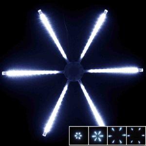 """LED-снежинка""""Звезда"""",бегущий огонь (50 см)"""